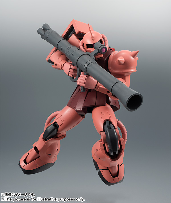 ROBOT魂 MS-06S シャア専用ザク ver. A.N.I.M.E. 再販 バンダイ 新作最安値予約