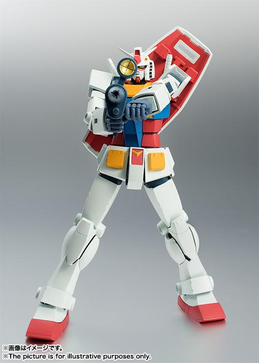 ROBOT魂 RX-78-2 ガンダム ver. A.N.I.M.E. 再販 バンダイ 新作最安値予約