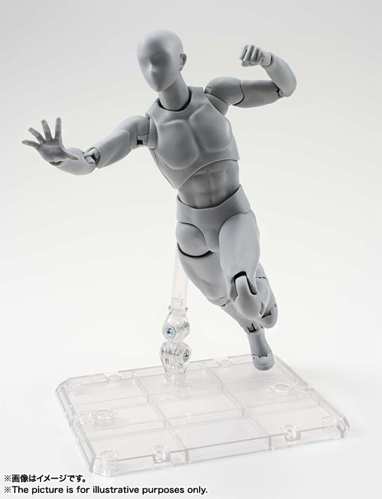 S.H.Figuarts ボディくん DX SET (Gray Color Ver.)再販 バンダイ 新作最安値予約