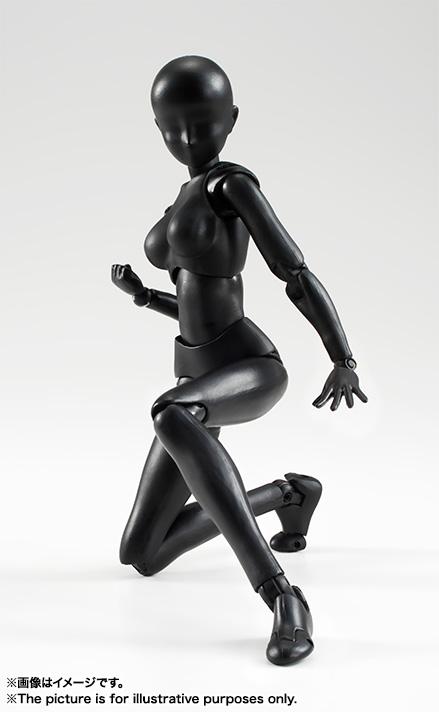 S.H.Figuarts ボディちゃん(Solid black Color Ver.)バンダイ 新作最安値予約