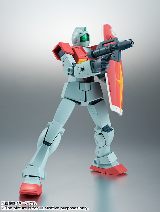 ROBOT魂 RGM-79 ジム ver. A.N.I.M.E. バンダイ 新作最安値予約